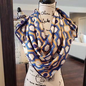 Accessories - Geometric modern patterned colorful scarf